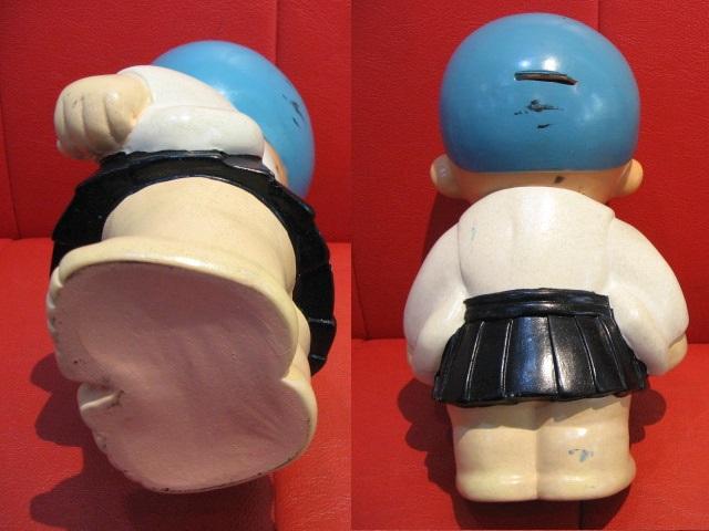 ◆即決◆ 希少品? 古い一休さん? 貯金箱フィギュア 人形 ソフビ  ※高さ=約25.5cm _画像4