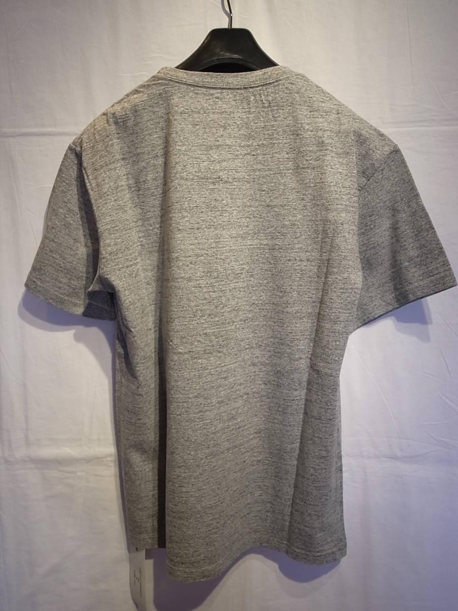 【新品】BUENAVISTA BANDERA T-SHIRT 半袖 シャツ デニム パンツ TEE Tシャツ バスク ブエナビスタ 石塚 GRAY サイズM_画像2