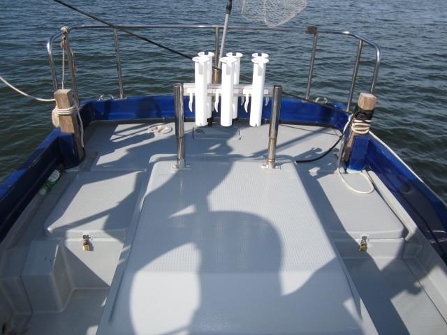 ヤマハYD26改 高馬力エンジンフルオーバーホール艇 装備多数。_画像3