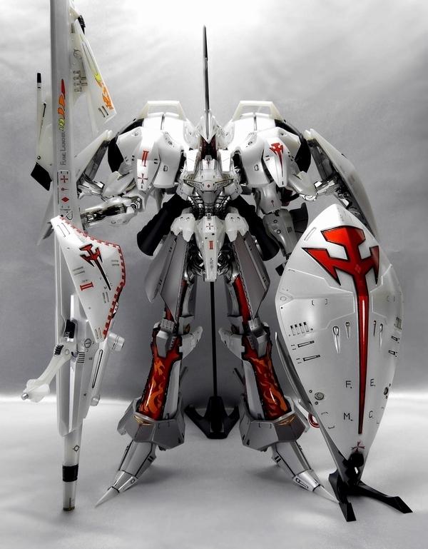 EmperorDesigns レッドミラージュ インフェルノナパーム アイシャ仕様完成品 ボークス 1/100 IMS FSS ファイブスター物語 (検索 GTM)