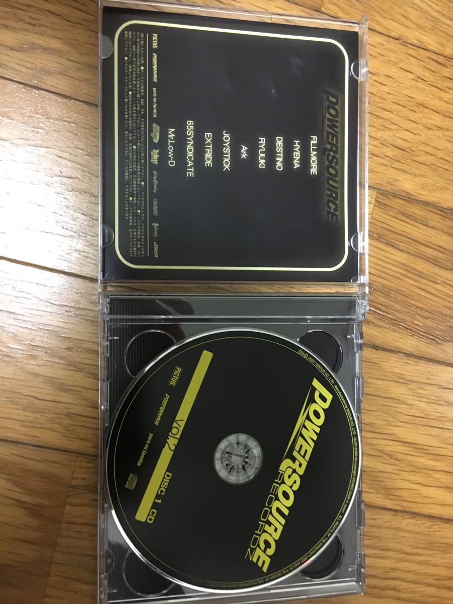 CD+DVD[POWER SOURCE VOL2]DJ FILLMORE.HYENA.DESTINO.Mr.LOW-D.ENMAKU.KOWICHI.JOYSTICKK.EL LATINO&Ms.OOJA.GIPPER.DS455PMX☆GO