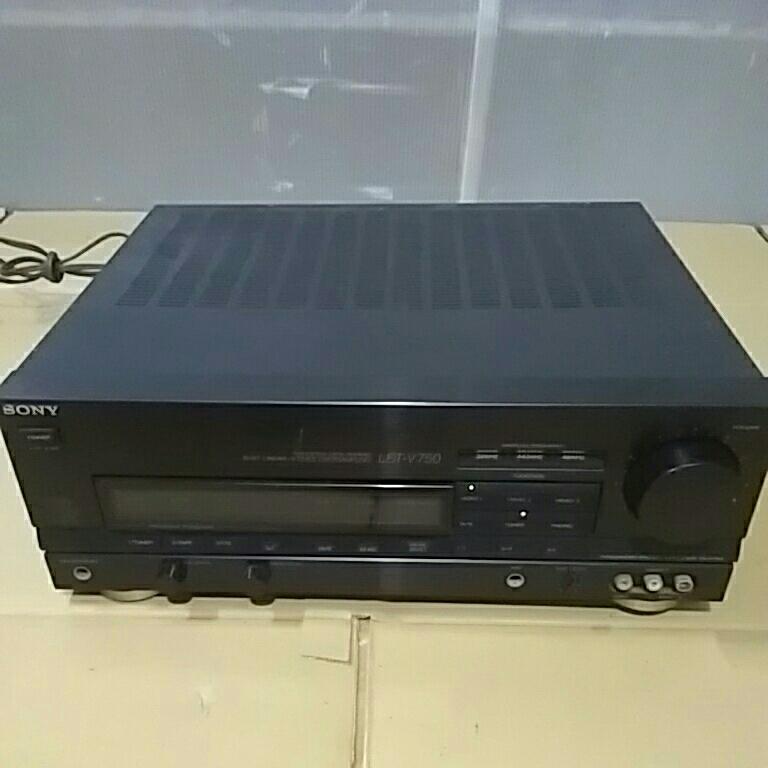 control 203 *SONY Sony TA-V750 amplifier electrification