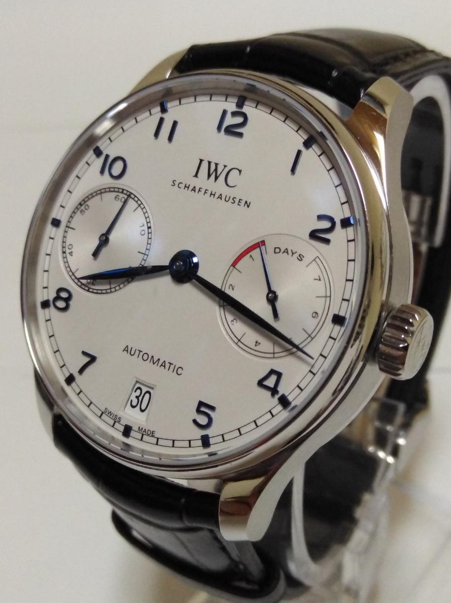 IWC IW500705 インターナショナル ウォッチ カンパニー◆ポルトギーゼ オートマチック◆自動巻き腕時計 未使用美品 安心国内発送_画像3