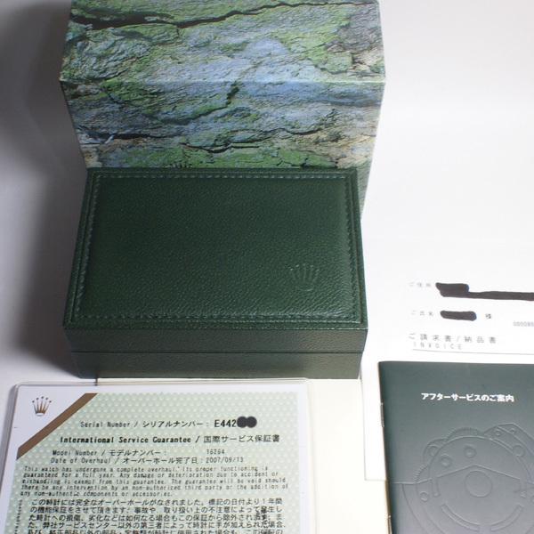 美品 2007年 日本ロレックスにてオーバーホール済(明細書有) ROLEX ロレックス デイトジャスト DATE JUST サンダーバード 16264 E番_画像5