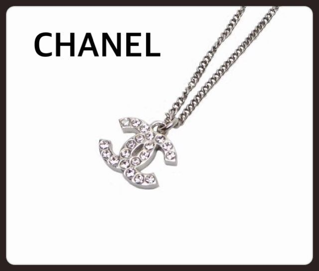 e4a3e982c439 CHANEL シャネル ネックレス ノベ ストーン ココマーク ゴールドは、売り切れです。 シルバー 埋込