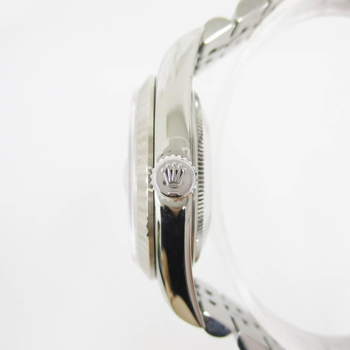 ROLEX ロレックス OYSTER PERPETUAL オイスターパーペチュアル DATEJUST デイトジャスト 16234 T番 メンズ 腕時計 自動巻き 大ReB08 0522 2_画像2