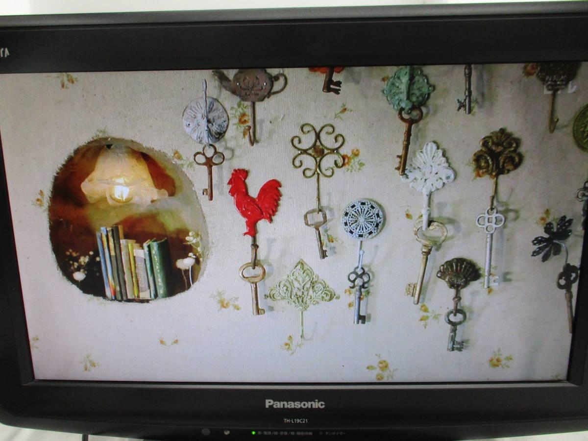 Panasonic パナソニック VIERA ビエラ 液晶カラーテレビ TH-L19C21-K 2010年製 リモコン B-CASカード付き 大ReB15 0513 2_画像5