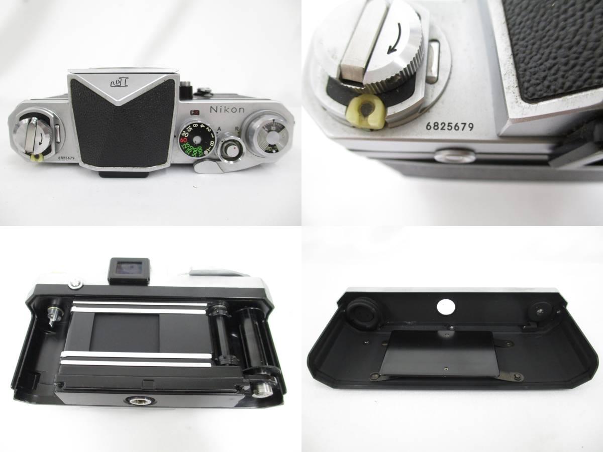 Nikon ニコン 一眼レフ フィルムカメラ F シルバ-ボディ アイレベルファインダー フォトミックファインダーFtn レンズ付き 大ReB15 0507 2_画像4