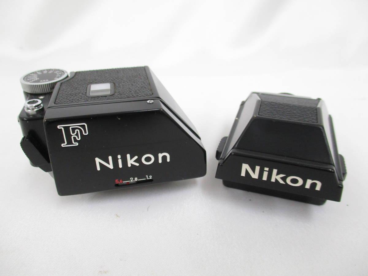 Nikon ニコン 一眼レフ フィルムカメラ F シルバ-ボディ アイレベルファインダー フォトミックファインダーFtn レンズ付き 大ReB15 0507 2_画像7