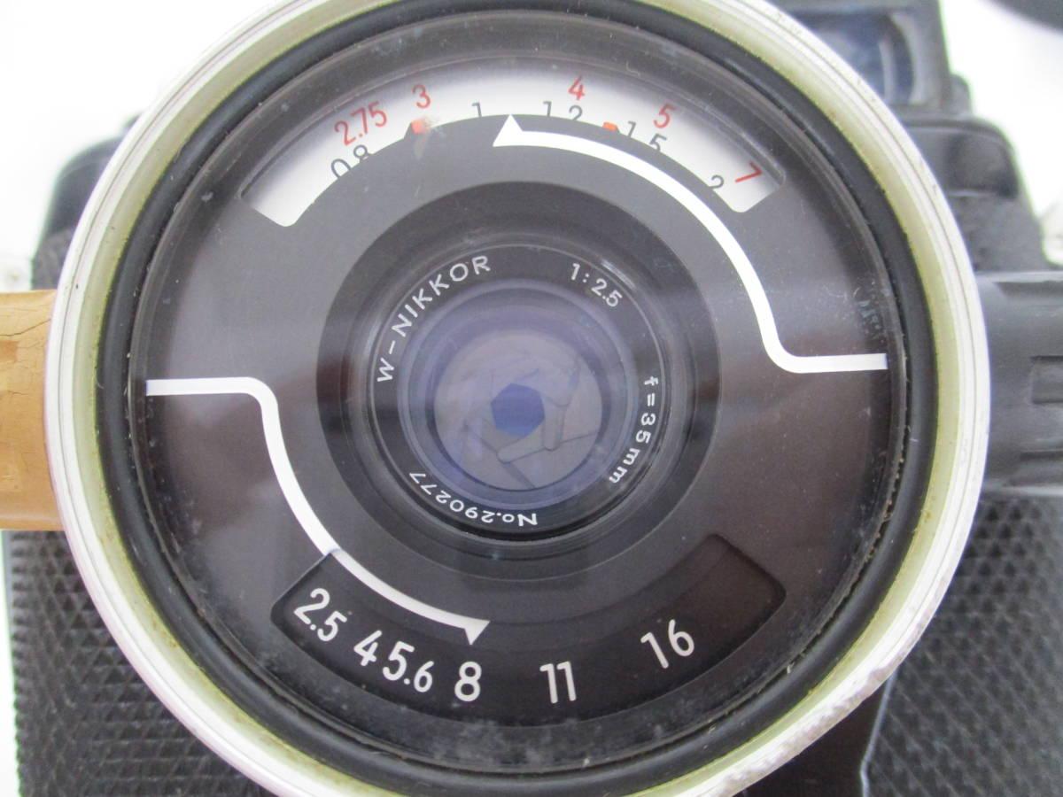 Nikon ニコン NIKONOS II ニコノス2 フィルムカメラ 水中カメラ レンズ W-NIKKOR 1:2.5 f=35mm ジャンク 大ReB08 0528 2_画像5