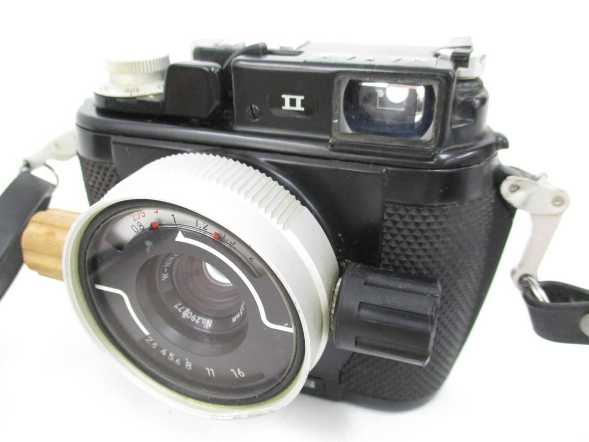 Nikon ニコン NIKONOS II ニコノス2 フィルムカメラ 水中カメラ レンズ W-NIKKOR 1:2.5 f=35mm ジャンク 大ReB08 0528 2