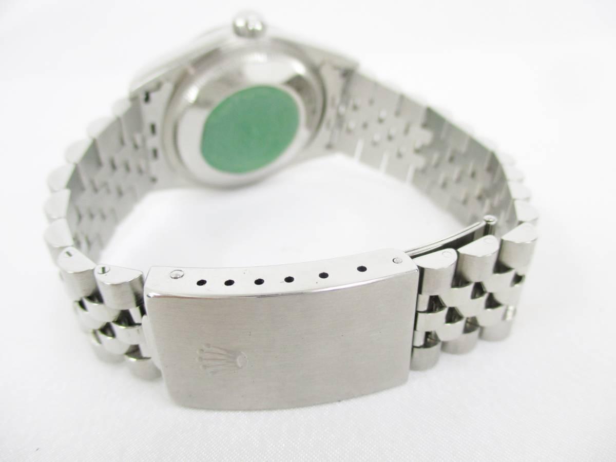 ROLEX ロレックス OYSTER PERPETUAL オイスターパーペチュアル DATEJUST デイトジャスト 16234 T番 メンズ 腕時計 自動巻き 大ReB08 0522 2_画像6