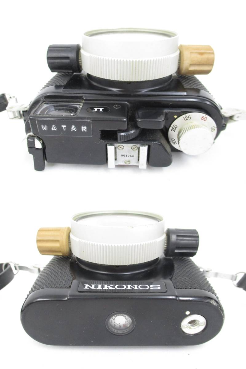 Nikon ニコン NIKONOS II ニコノス2 フィルムカメラ 水中カメラ レンズ W-NIKKOR 1:2.5 f=35mm ジャンク 大ReB08 0528 2_画像4
