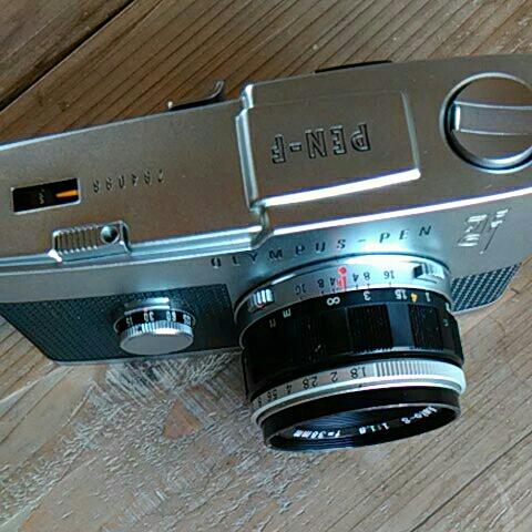 程度良好オリンパスペンf 38mm.f1.8_画像2