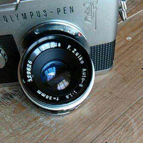 程度良好オリンパスペンf 38mm.f1.8_画像3