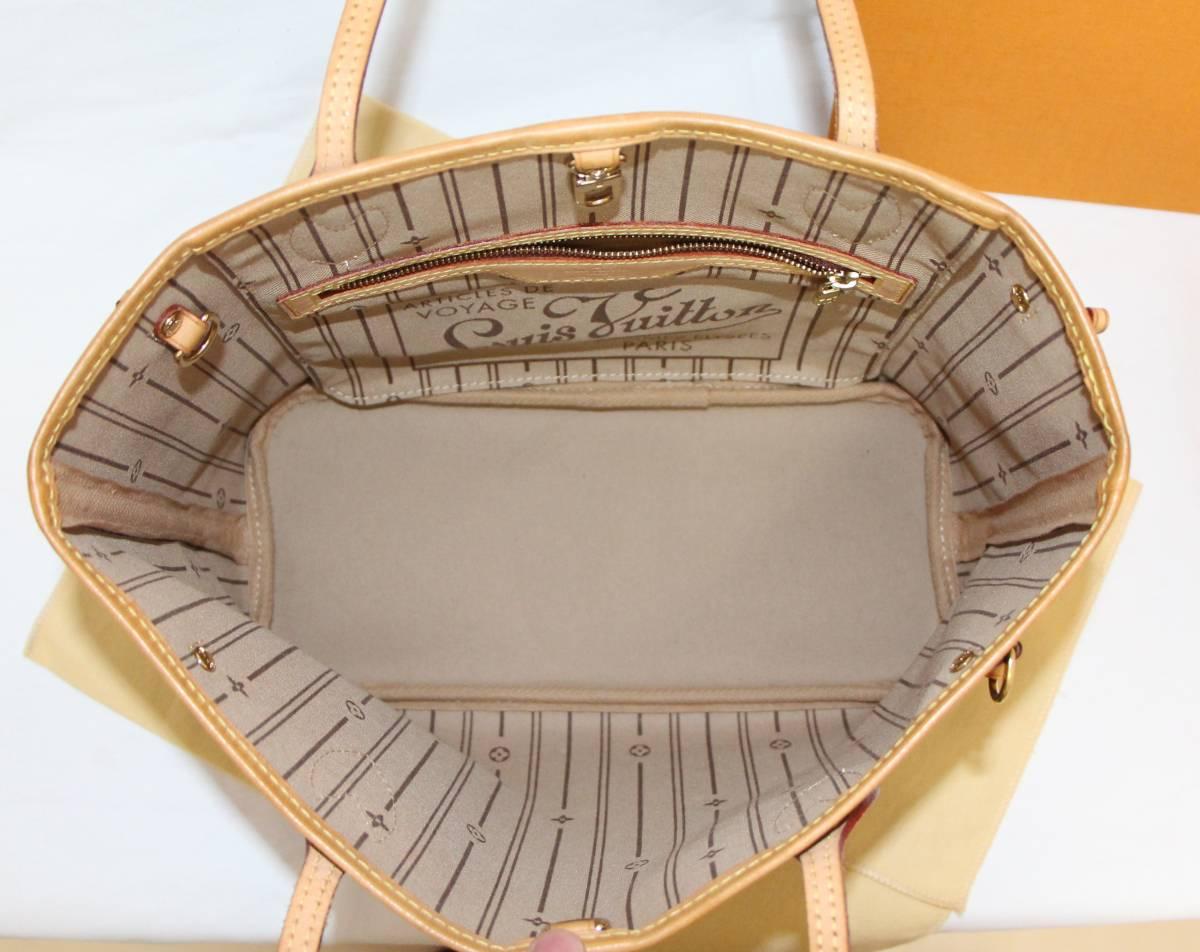 美品 ヴィトン モノグラム ネヴァーフル PM ショルダー トート ハンド バッグ 人気 本物 きれい 1円~ _画像4