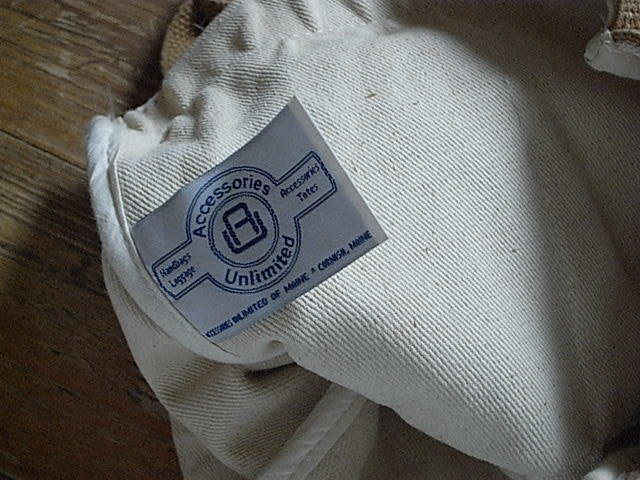CORNISH Accessories unlimited MADE IN USA TOTE USED。_画像4