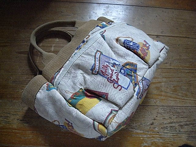 CORNISH Accessories unlimited MADE IN USA TOTE USED。_画像1