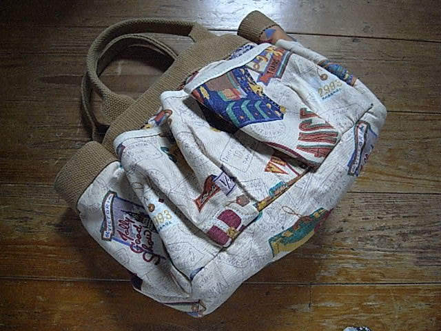 CORNISH Accessories unlimited MADE IN USA TOTE USED。_画像2