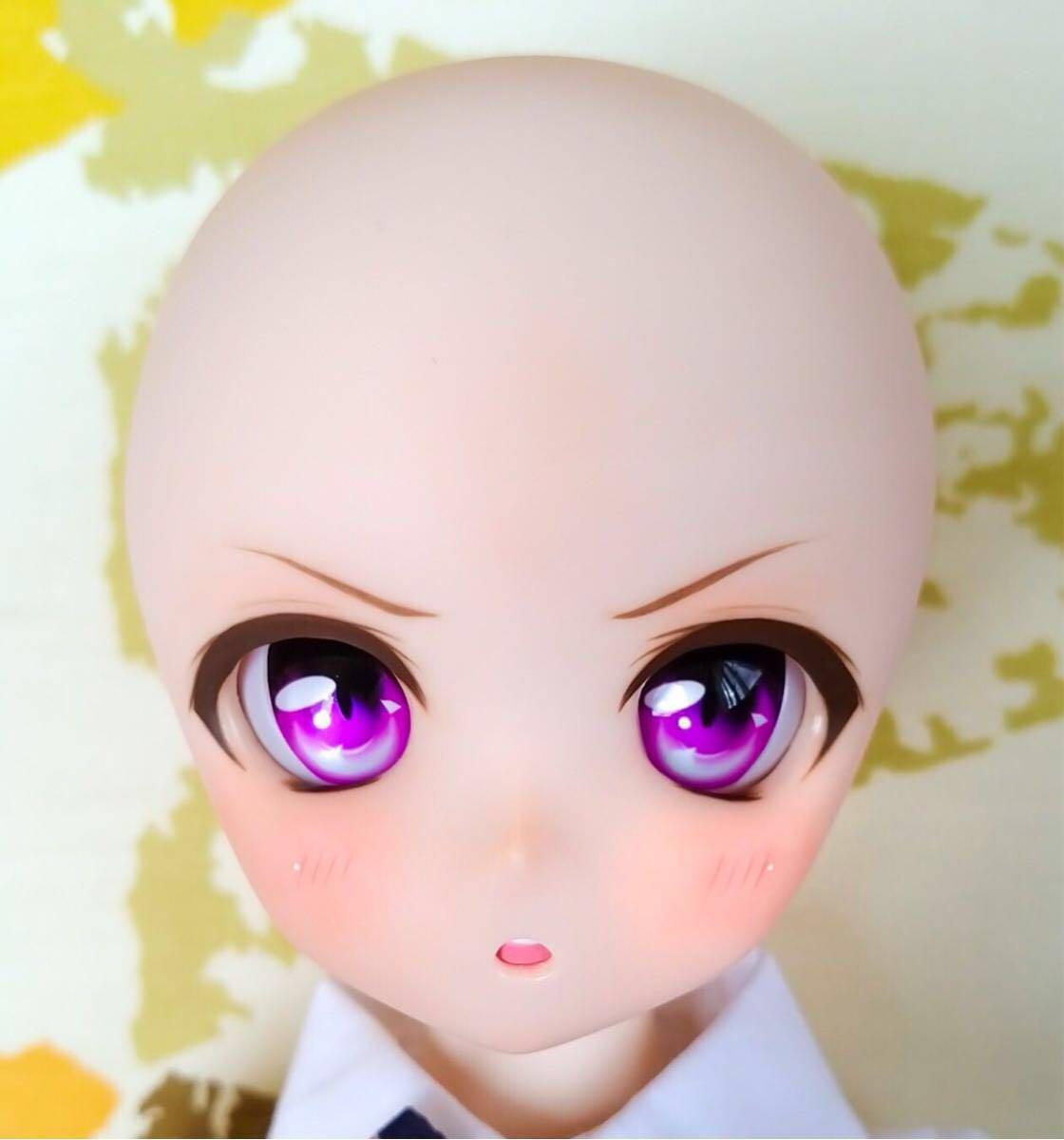 【Cube。】No.59 DDH-01 ノーマル肌 カスタムヘッド+アイ_画像10