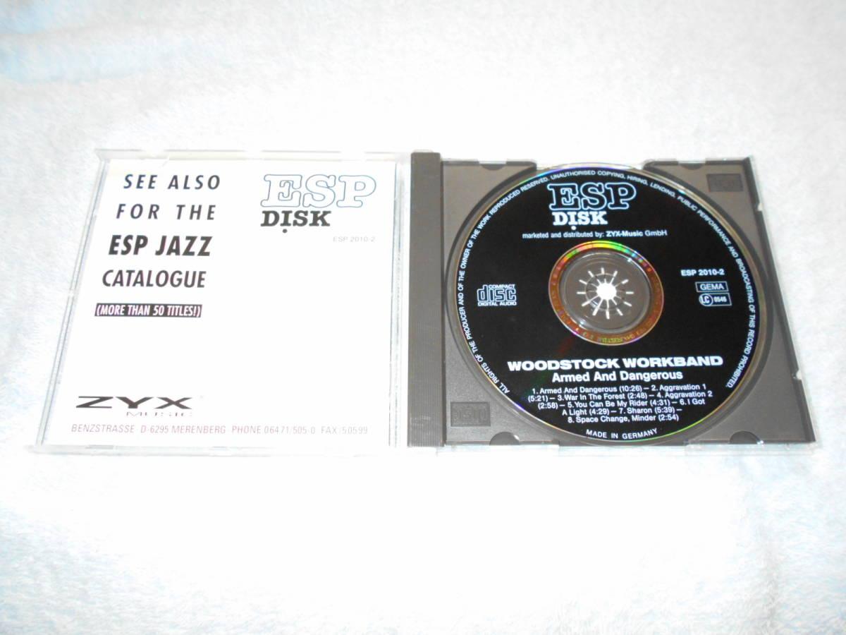 WOODSTOCK WORKBAND ウッドストック・ワークバンド /激少盤CD化_画像2