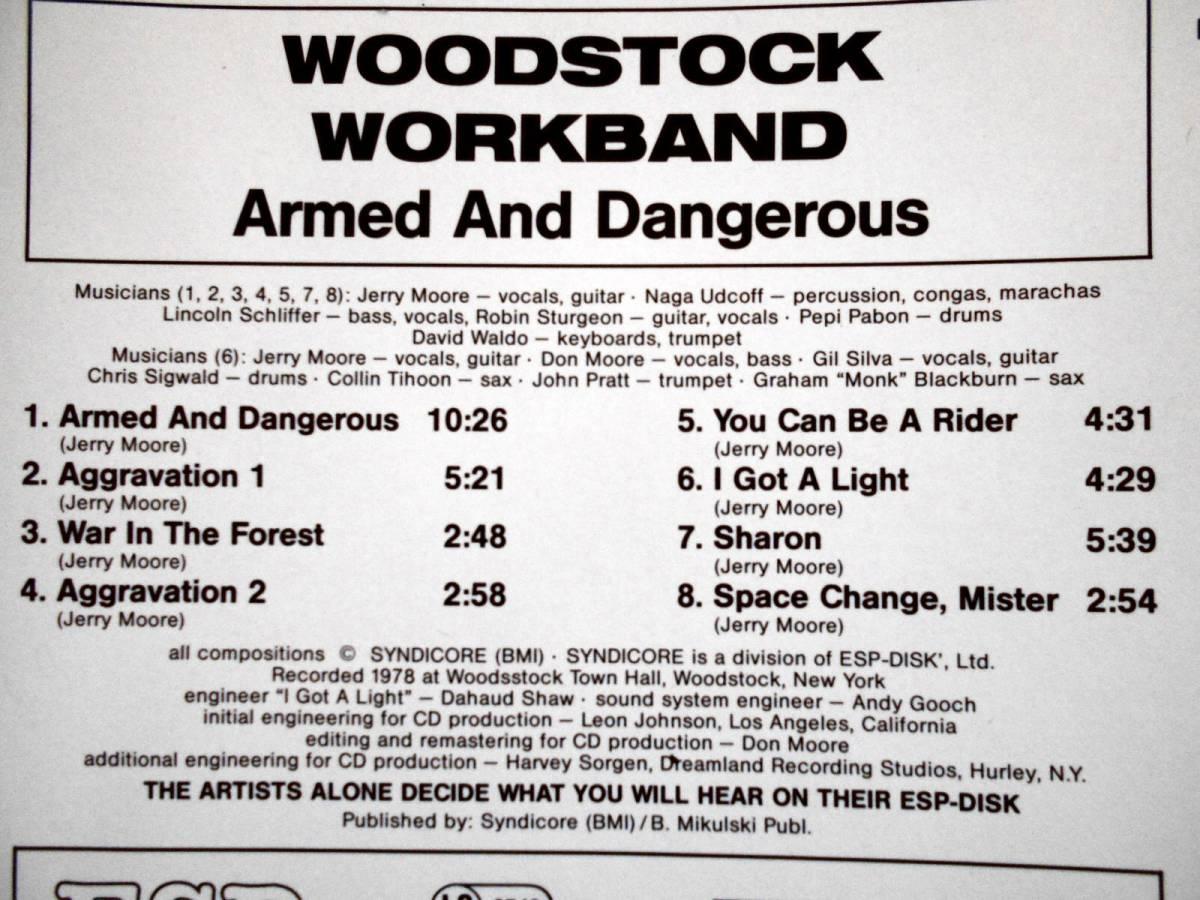 WOODSTOCK WORKBAND ウッドストック・ワークバンド /激少盤CD化_画像3