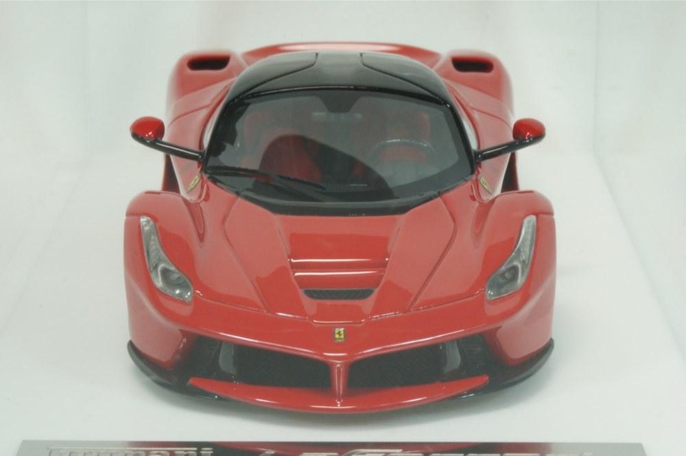 08 D&G Davis & Giovanni 1/43 ラフェラーリ ロッソコルサ ブラックルーフ ブラックホイール La Ferrari (BBR MR LS M.S) _画像2