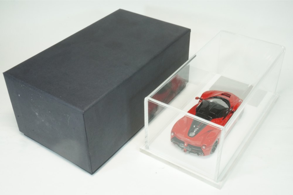 08 D&G Davis & Giovanni 1/43 ラフェラーリ ロッソコルサ ブラックルーフ ブラックホイール La Ferrari (BBR MR LS M.S) _画像8