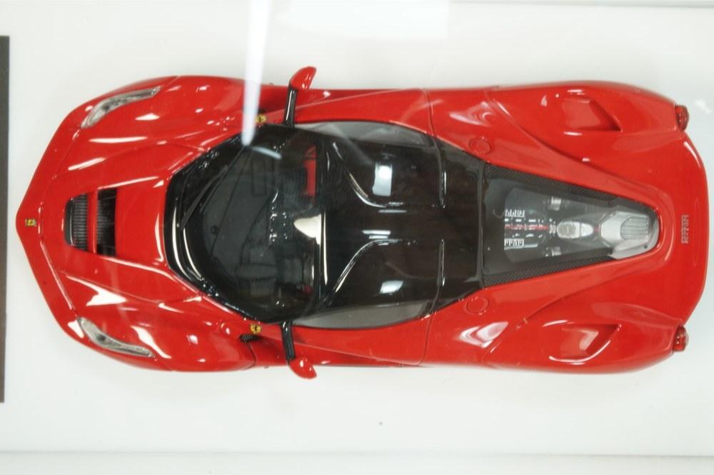 08 D&G Davis & Giovanni 1/43 ラフェラーリ ロッソコルサ ブラックルーフ ブラックホイール La Ferrari (BBR MR LS M.S) _画像6