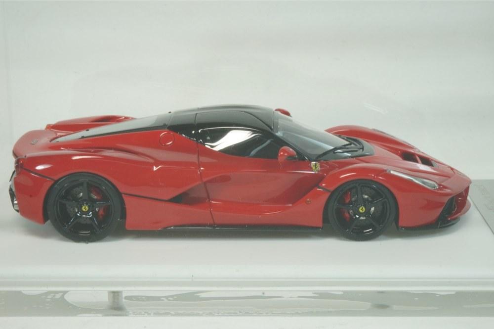 08 D&G Davis & Giovanni 1/43 ラフェラーリ ロッソコルサ ブラックルーフ ブラックホイール La Ferrari (BBR MR LS M.S) _画像5