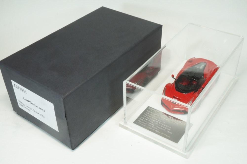 08 D&G Davis & Giovanni 1/43 ラフェラーリ ロッソコルサ ブラックルーフ ブラックホイール La Ferrari (BBR MR LS M.S) _画像7