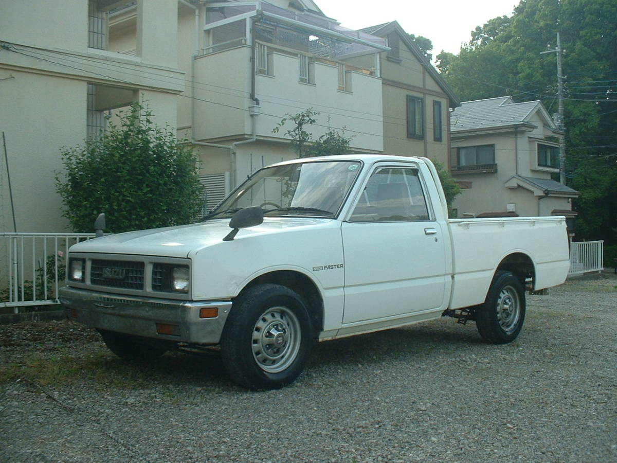 Isuzu Faster Isuzu Mini Truck Old Car LUV Rodeo Datsun Datsun Truck 320 520