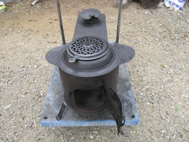 ★鉄製薪ストーブ、長い薪が燃やせます☆中古_画像6