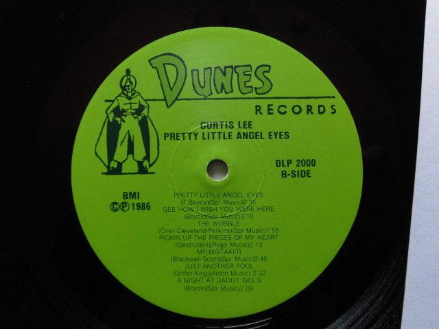 希少US170g重量盤良品 Curtis Lee/Pretty Little Angel Eyes  60'sアメリカン・ティーン・ポップス プロデュース/フィル・スペクター_画像4