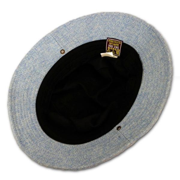DTT サファリハット メンズ レディース 帽子 サイズ55CM CAP カンカン帽 ワークキャップ ストローハット 麦わら帽子 ウール _画像8