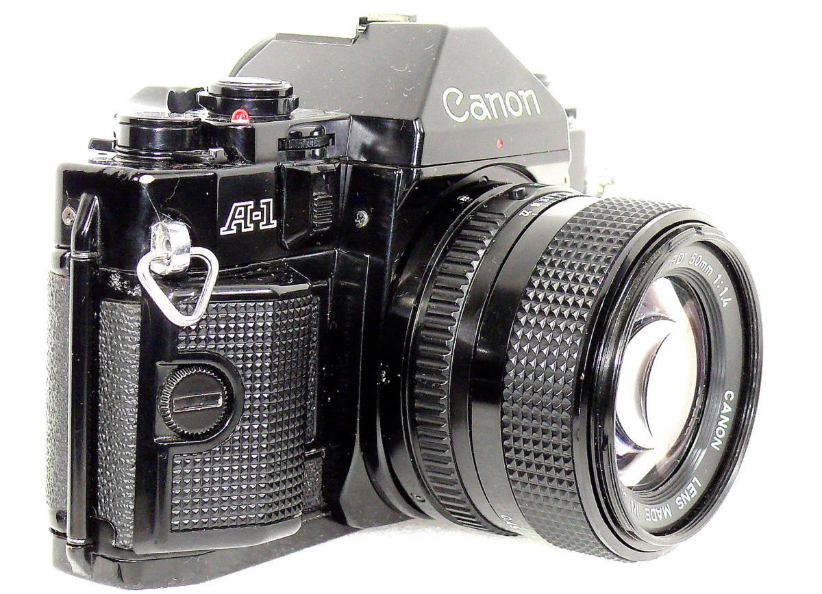 Canon キャノンA-1 FD50mm1.4  中古難あり _画像2