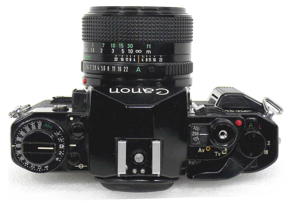 Canon キャノンA-1 FD50mm1.4  中古難あり _画像4