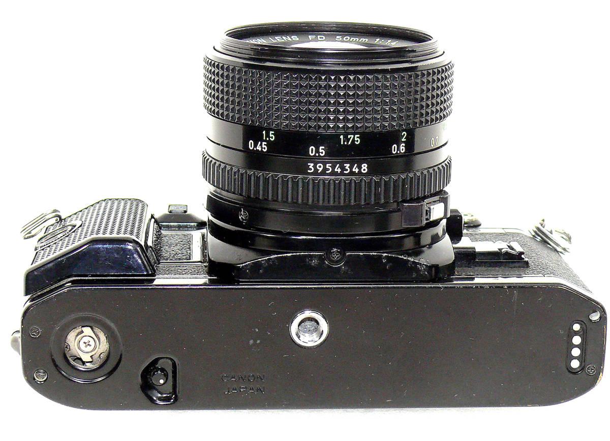 Canon キャノンA-1 FD50mm1.4  中古難あり _画像5