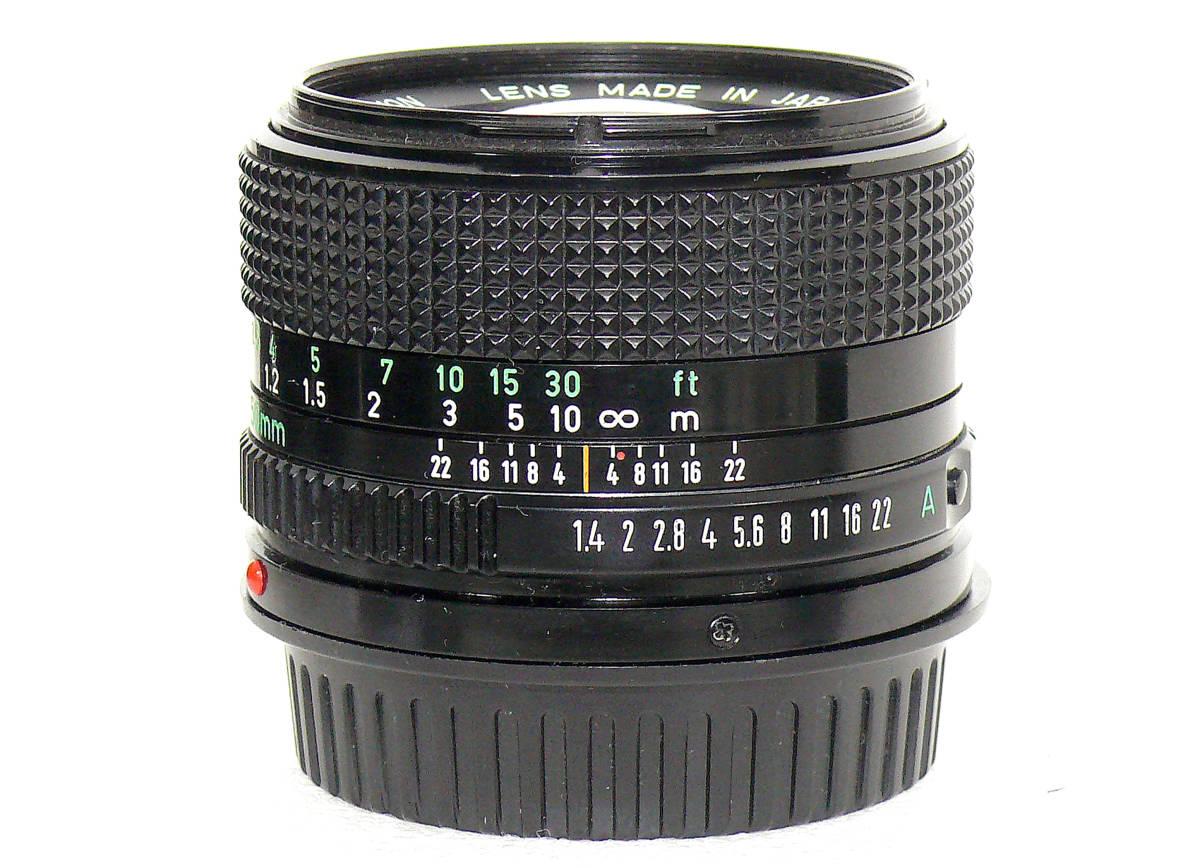 Canon キャノンA-1 FD50mm1.4  中古難あり _画像8