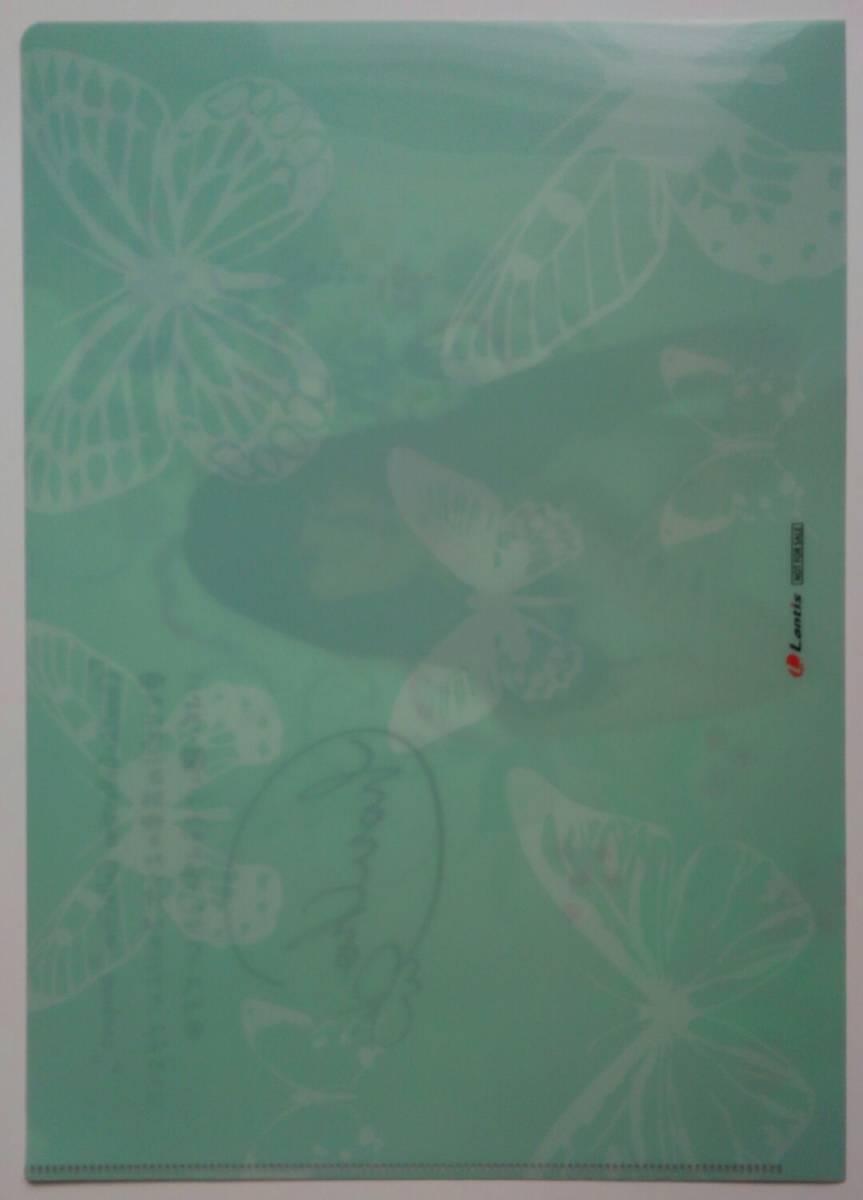 """■即決■ChouCho ChouCho ColleCtion""""bouquet"""" 初回限定盤 アニメイト特典 A4クリアファイル のみ 非売品_裏"""