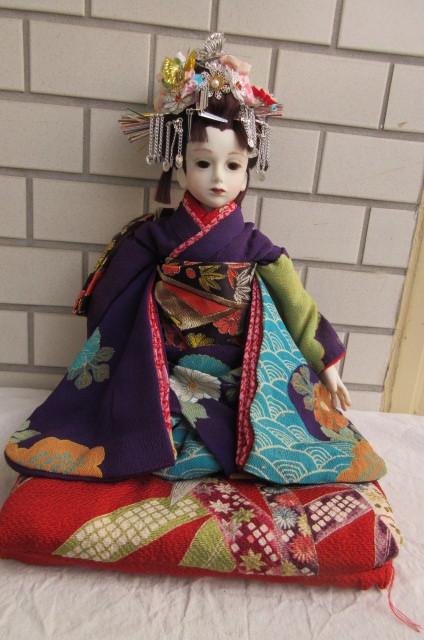 〇ビスクドール 球体関節人形 (市松人形)