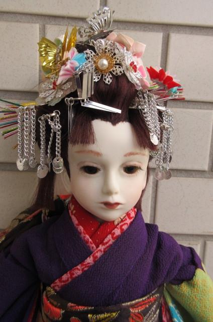 〇ビスクドール 球体関節人形 (市松人形)_画像5