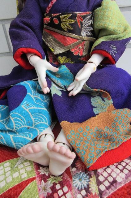 〇ビスクドール 球体関節人形 (市松人形)_画像8