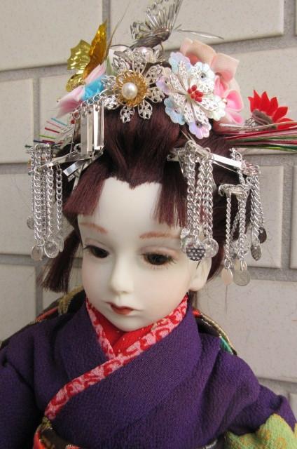 〇ビスクドール 球体関節人形 (市松人形)_画像4