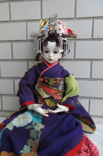〇ビスクドール 球体関節人形 (市松人形)_画像2