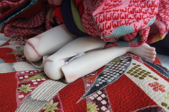 〇ビスクドール 球体関節人形 (市松人形)_画像7