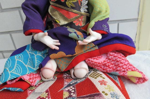 〇ビスクドール 球体関節人形 (市松人形)_画像9