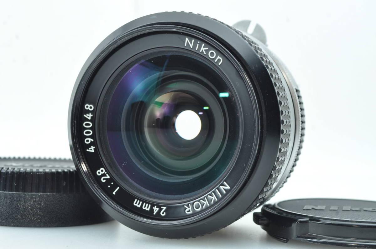 ★極上美品★ニコン NIKON NEW NIKKOR 24mm f2.8 ★完動★#3680