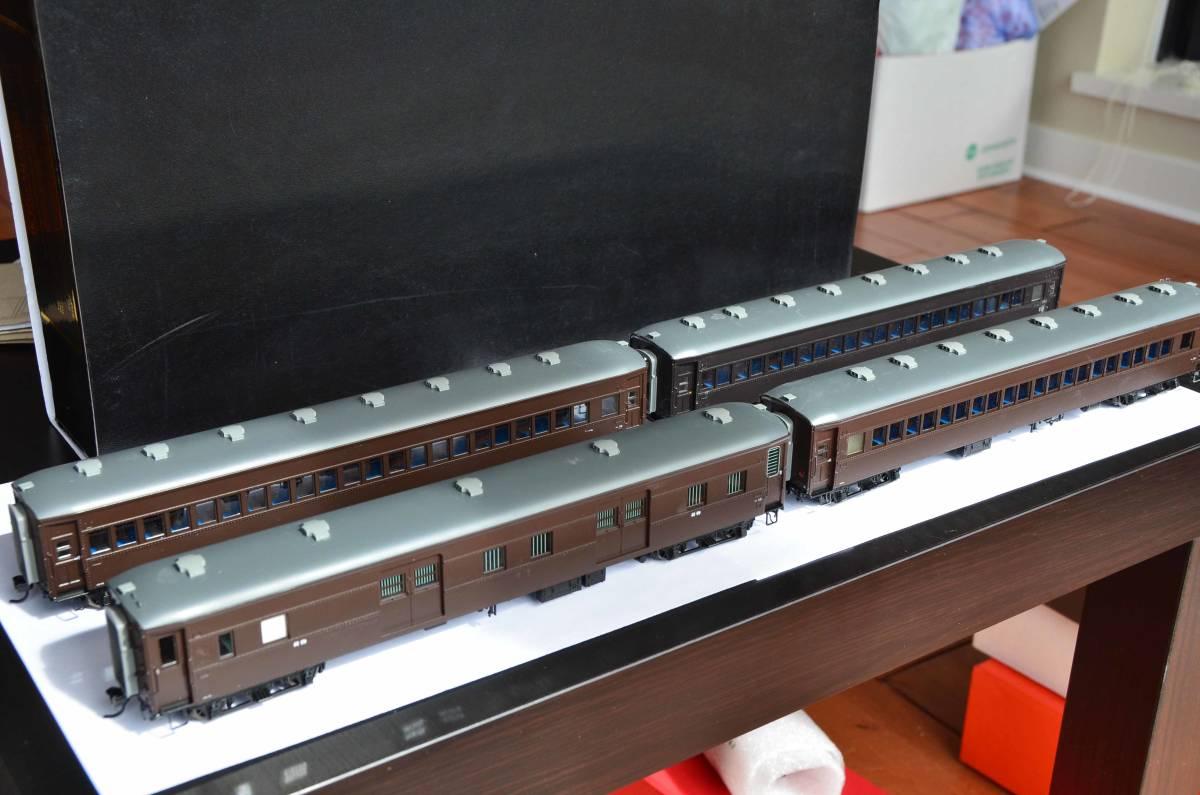 天賞堂 プラスチック製 国鉄 乗客4車両セットA