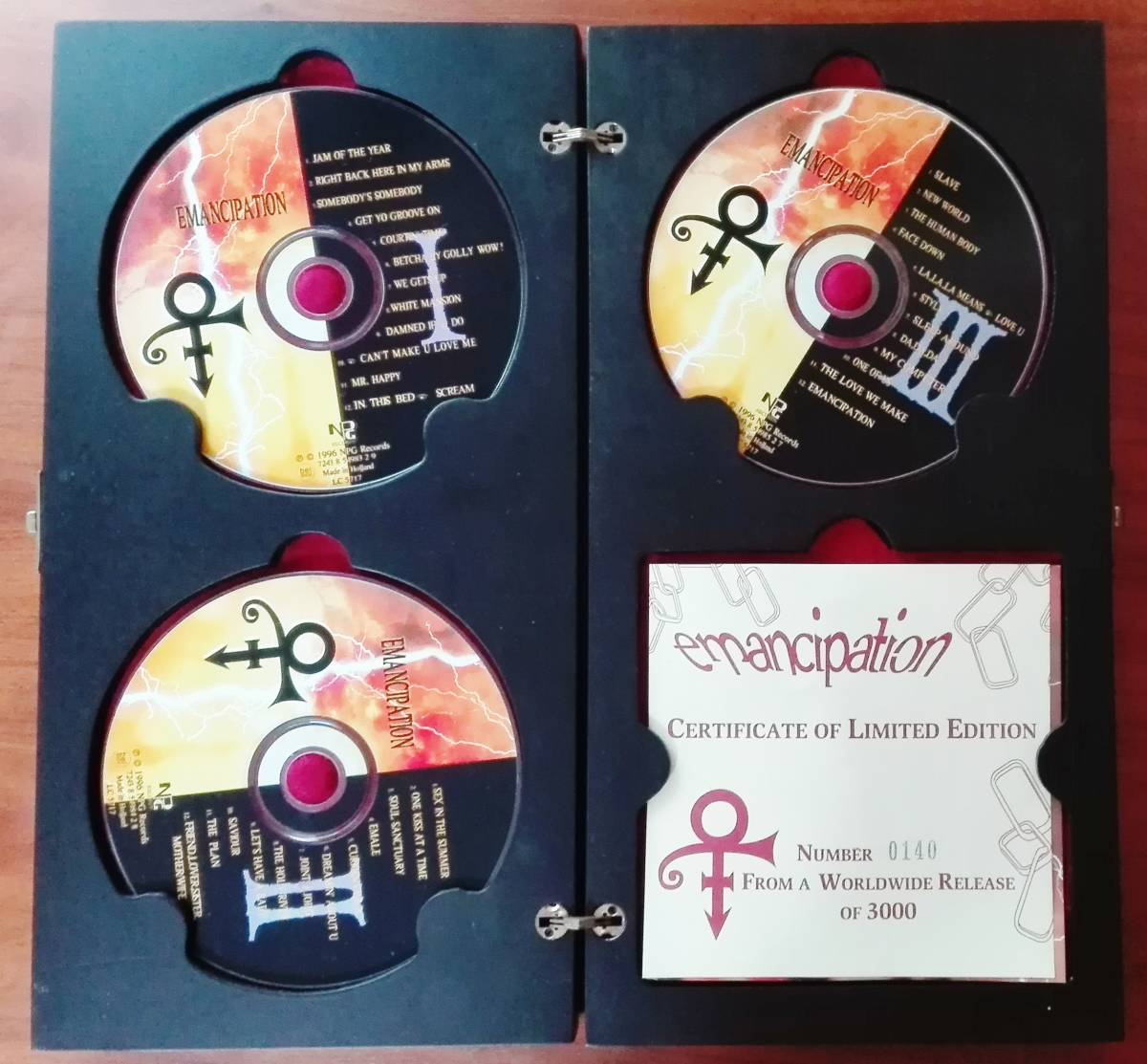 Prince - emancipation [CERTIFICATE OF LIMITED EDITION] WORLDWIDE RELEASE OF 3000_画像2